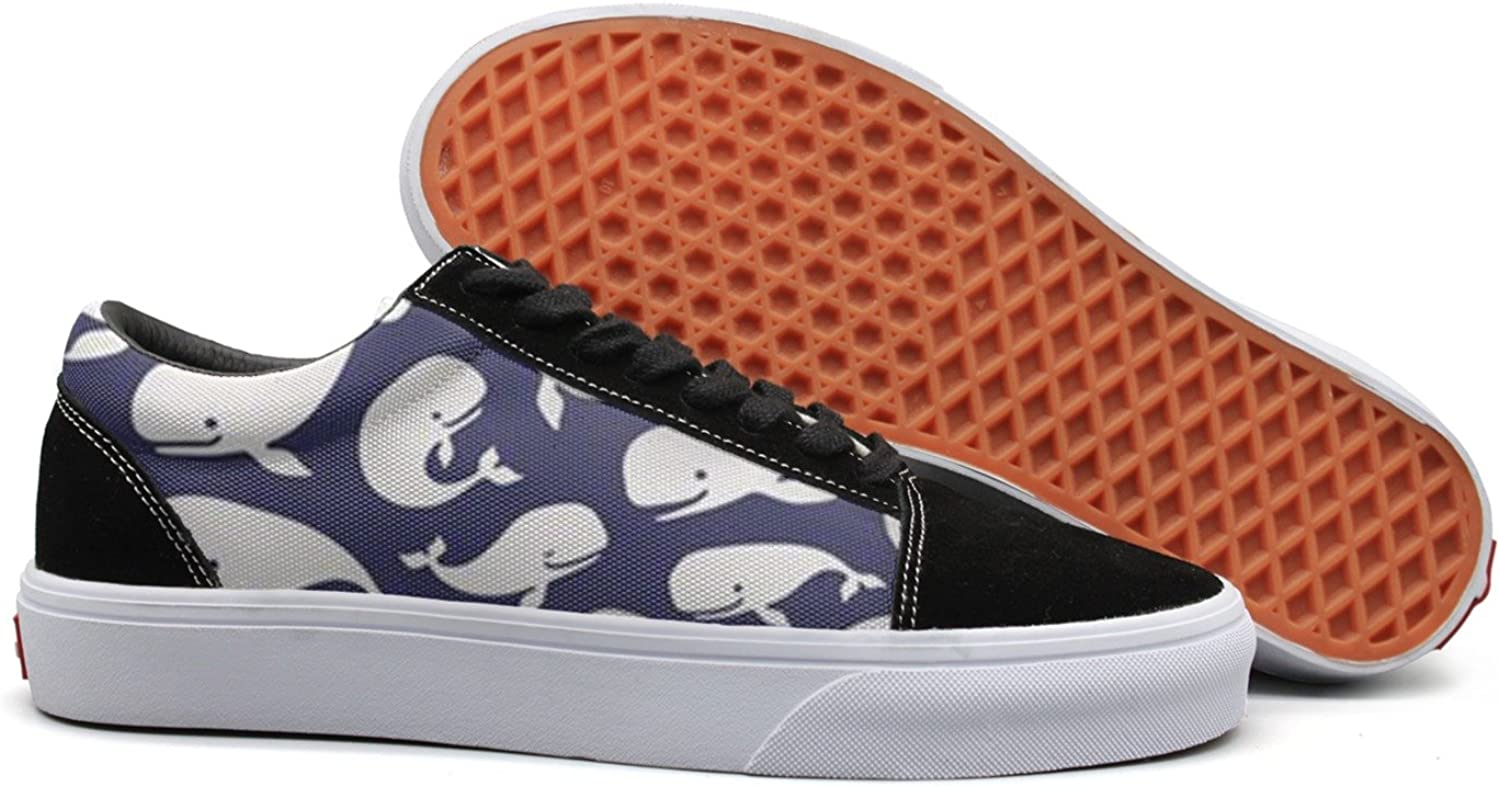 Fashio Canvas shoes for Women Navy Moby Dick Sneakers