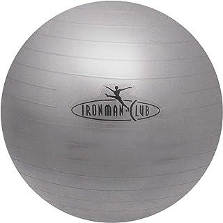IRONMAN CLUB(鉄人倶楽部) ノーバースト ヨガ ボール <55cm/65cm> ポンプ付 破裂しにくいタイプ