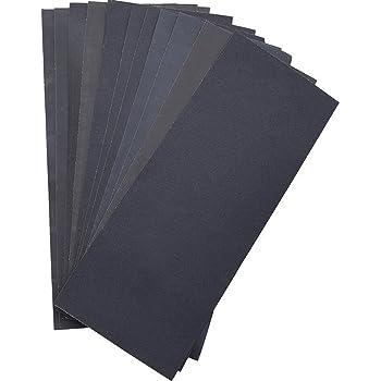 Norton Lot de 3 Feuilles 230 x 280 mm papier imperm/éable Grain 600