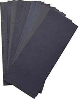 Abrasive Dry Wet Waterproof Sandpaper Sheets Assorted Grit of 400/600/ 800/1000/..