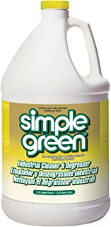 Simple Green 3010200614010 Lemon Scent Non-Toxic Degreaser and Cleaner in 1 gal Bottles (Pack of 6)