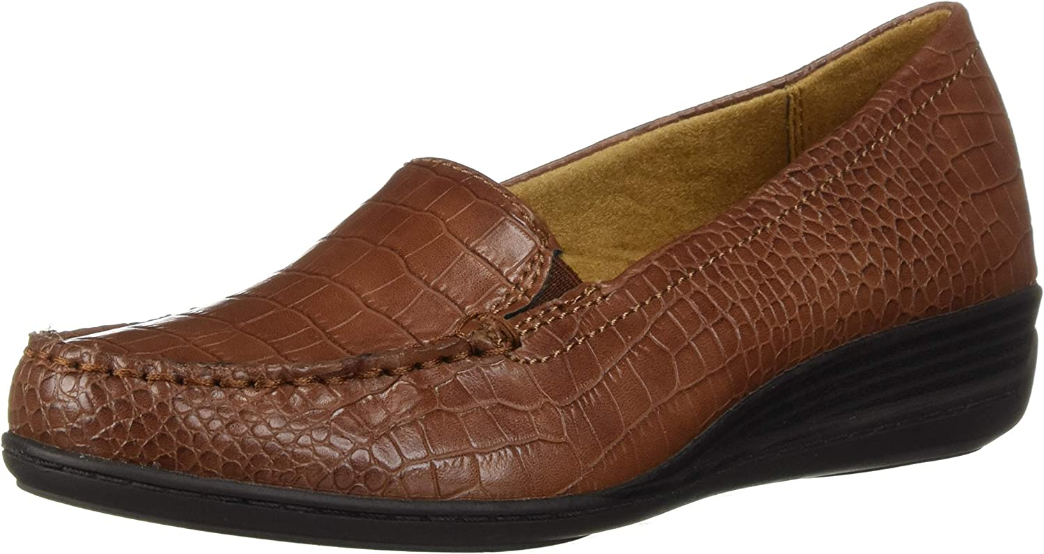 SOUL Naturalizer Women's WILAMINA Loafer, tan, 6 M US