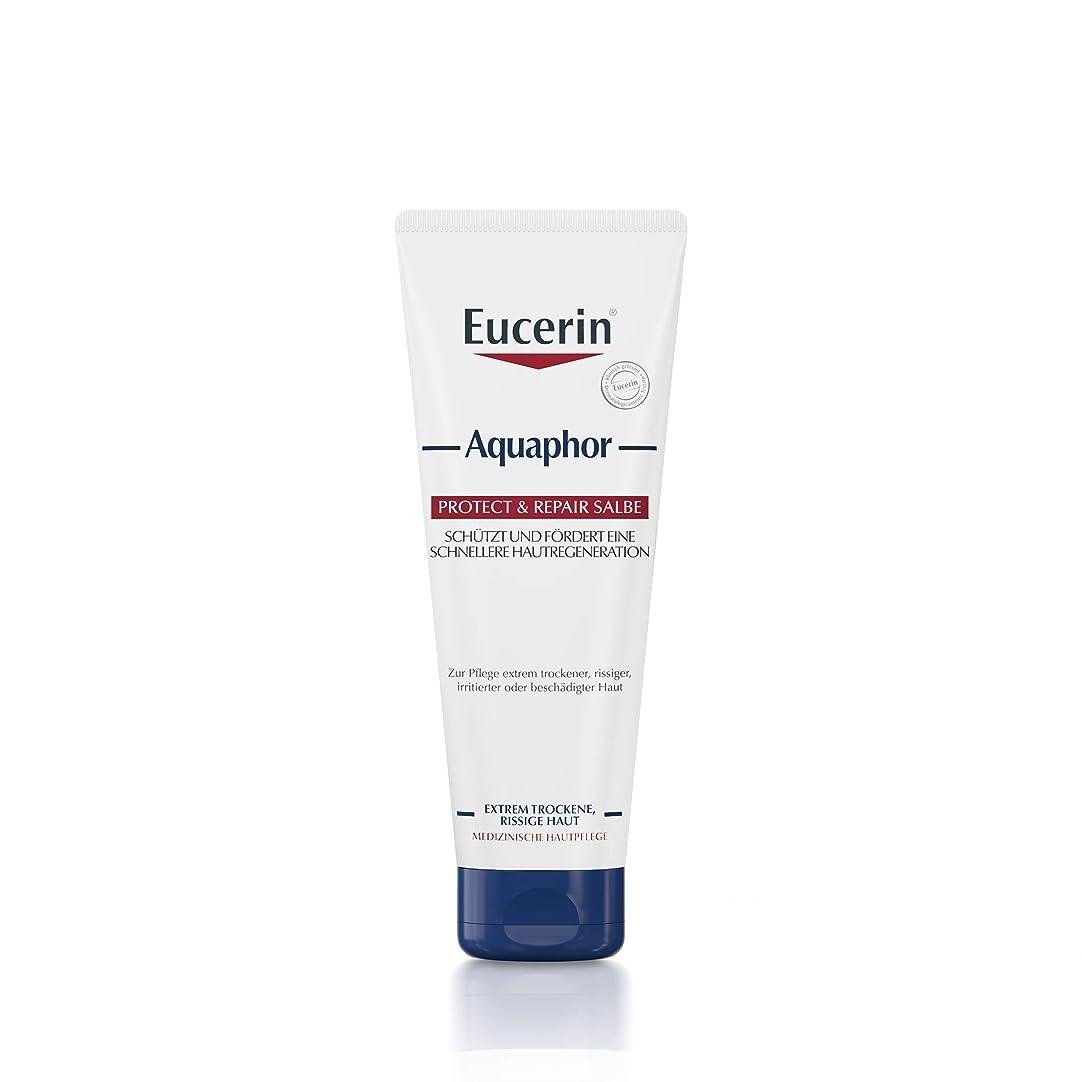 プレゼンター受け取る劇場Eucerin Aquaphor Soothing Skin Balm 220ml - EucerinのAquaphor心地よいスキンクリーム220ミリリットル (Eucerin) [並行輸入品]