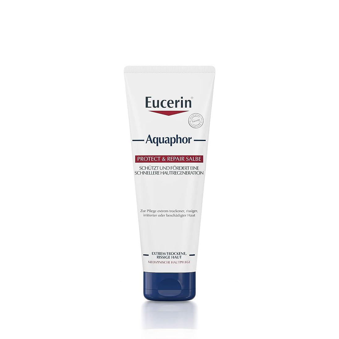 言うまでもなく雑種相互接続Eucerin Aquaphor Soothing Skin Balm 220ml - EucerinのAquaphor心地よいスキンクリーム220ミリリットル (Eucerin) [並行輸入品]