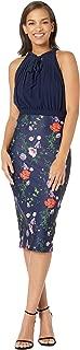 Women's Shimma Halter Neck Pleated Dress