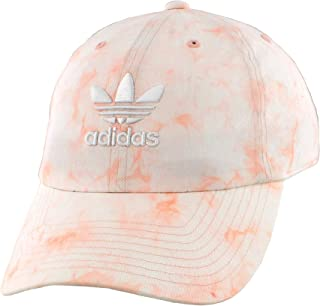 Originals Women's Relaxed Tie Dye Strapback Cap, Dust Pink/White, ONE SIZE