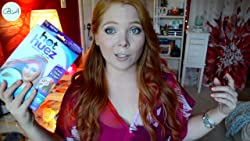 Video Review of Hot Huez Hair Chalk - Hair Chalking