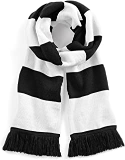 black and white scarf mens
