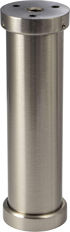 Edelstahl Bar-//Tresen-//Fu/ßstange /Ø 33,7 mm aus einem St/ück//ungeteilt 190cm 2 Edelstahl-Halter