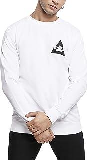 Mister Tee Men's Triangle Crewneck Pullover Sweater