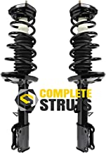 Rear Quick Complete Struts & Coil Spring Assemblies Compatible with 1993-2002 Toyota Corolla (Pair)