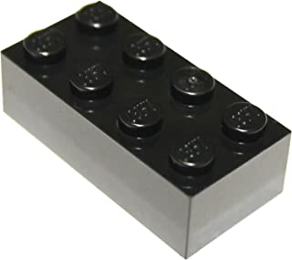LEGO Parts and Pieces: Black 2x4 Brick x10