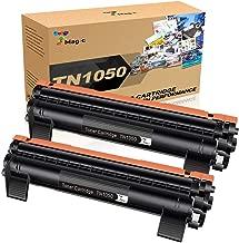 TN1050 Tóner, 7Magic TN1050 Compatible con Brother TN1050 TN 1050,Compatible con Brother DCP-1510 DCP-1612W HL-1110 MFC-1810 MFC-1910W HL-1212W HL-1210W DCP-1610W DCP-1512 HL-1112 Impresora(2 Negro)