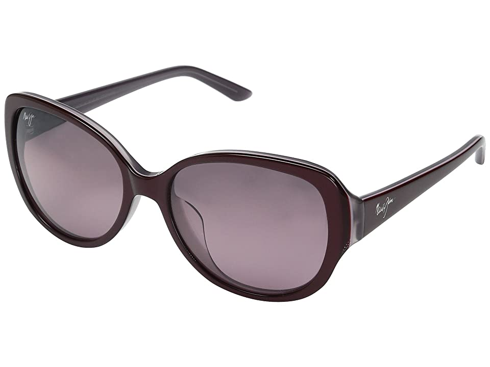 Maui Jim Swept Away (Ruby with Mauve/Maui Rose) Fashion Sunglasses