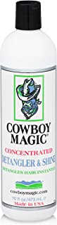 Cowboy Magic Concentrated Detangled and Shine (DETANGLES Hair Instantly) 16 Ounce