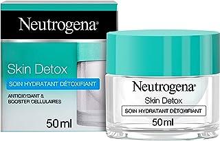 Neutrogena Hydraterende crème voor gezicht, Skin Detox, gezichtsverzorging, 1 pot met 50 ml
