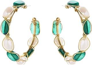 Oscar de la Renta Hoop Earrings