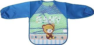 Baby bib with cartoon sleeves - Bella Bambino , 2725609518357