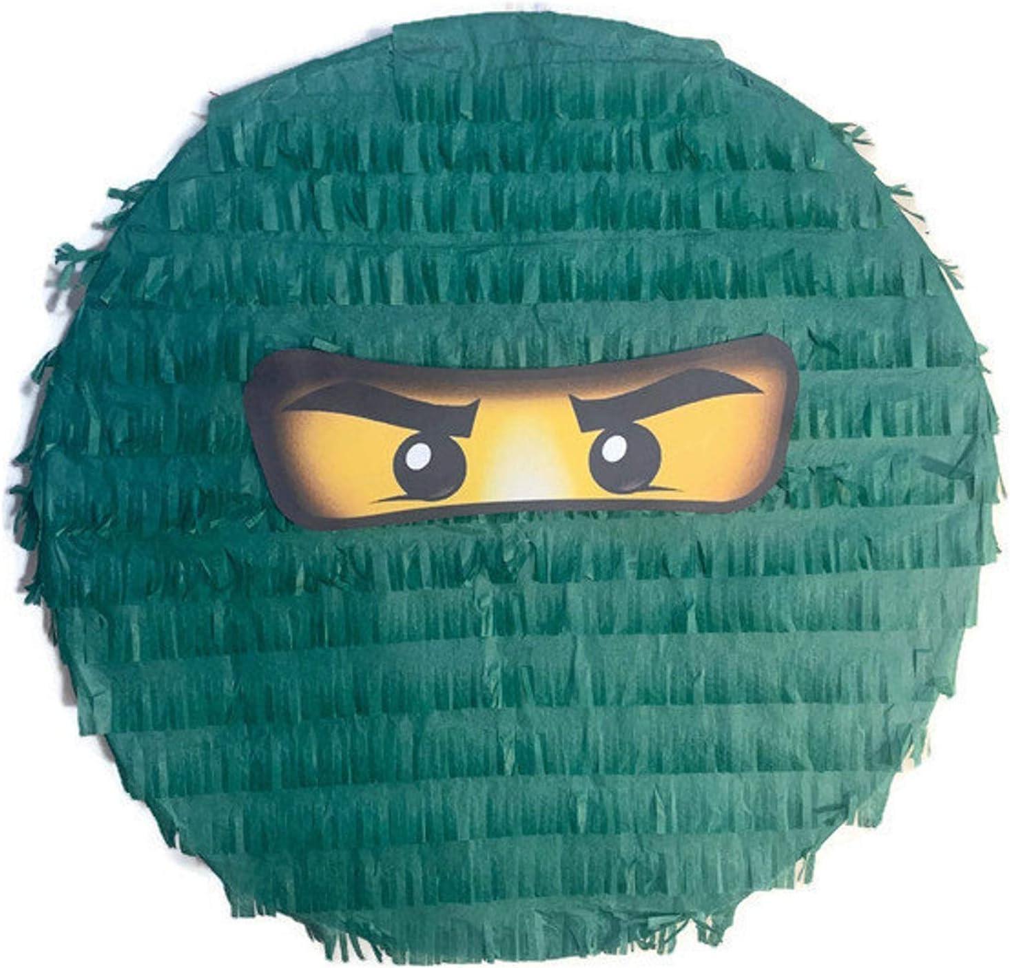 IPINATA Green Genuine Free Shipping Ninja Pinata Quality inspection Face