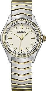 EBEL Ladies 1216481 Wave 18K Gold & Steel Swiss Quartz Watch