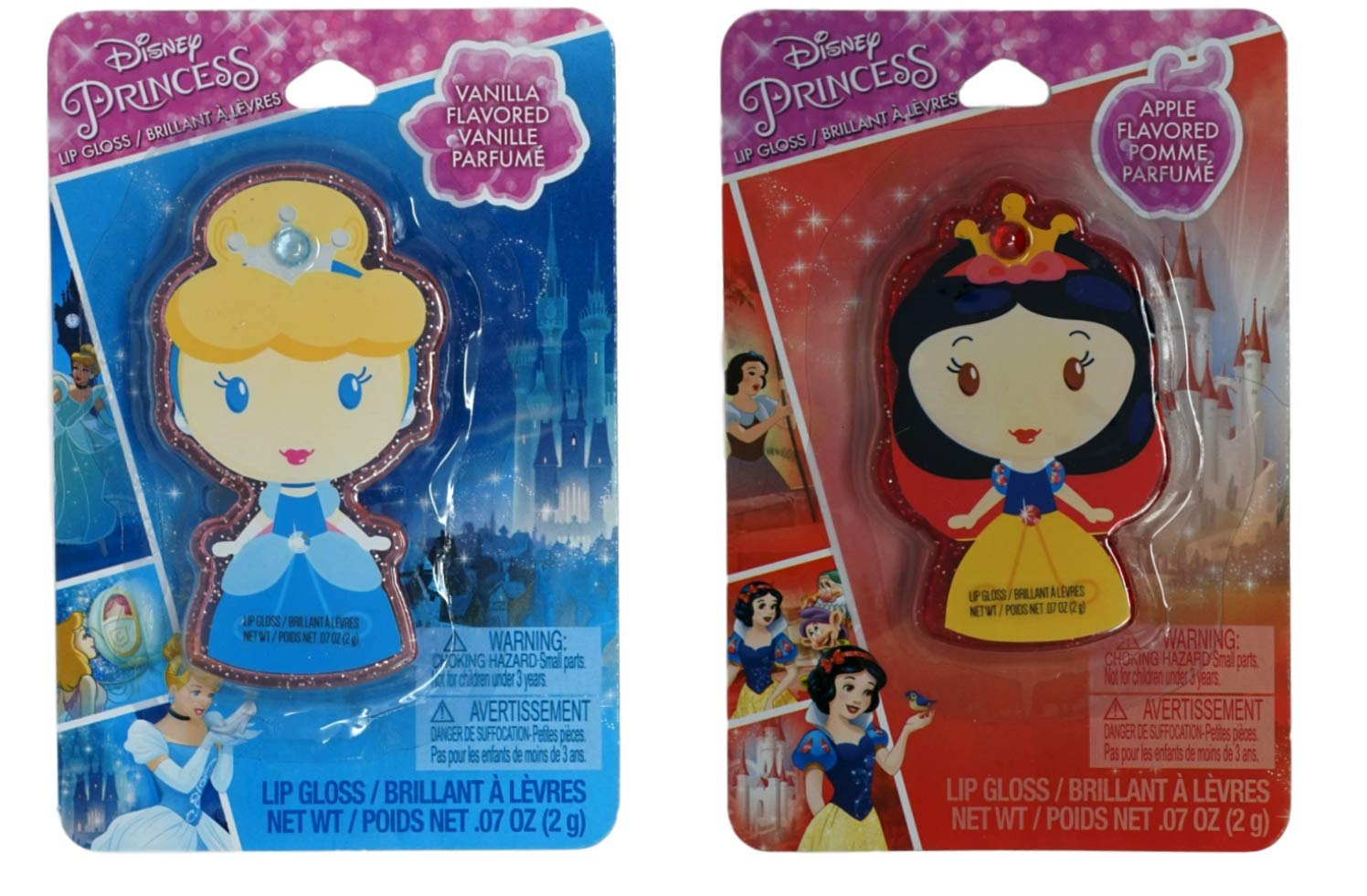 Disney It is very popular Princess Flavored Lip Gloss Set Cinde 1 online shop White Snow and