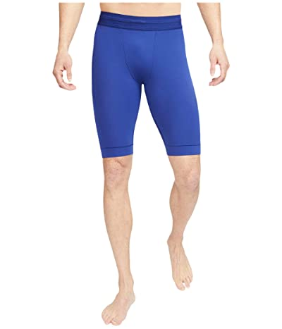 Nike Dry Shorts Yoga (Deep Royal Blue/Black) Men