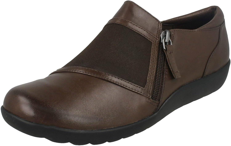 Clarks Ladies Flat Shoes Medora Gale