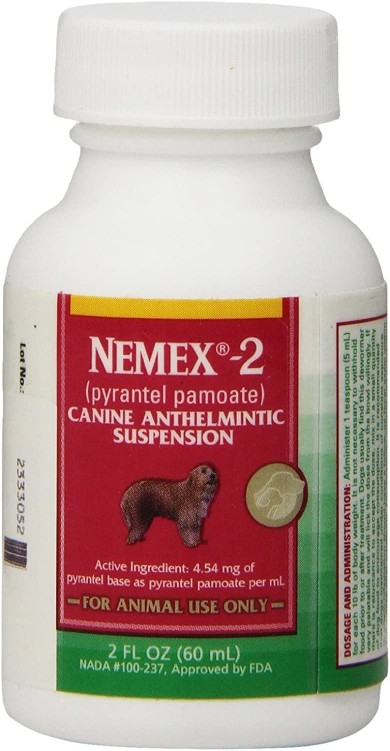 Nemex2 Dewormer Size 2 Oz Packs Pack of 2