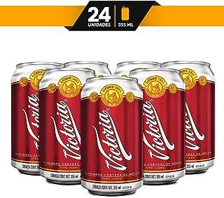 Cerveza Ámbar Victoria 24 latas de 355 ml c/u