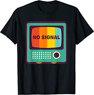No Signal Green Square TV Color Bars Screen Test Pattern Tee