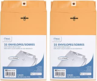 6X9 Clasp Envelopes 50-Count (2 x 25)