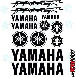 Yamaha Fazer Set 30x 20cm typ5adhesivos Tuning Bike Moto Logotipos