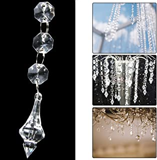 XCSOURCE 30PCS Acrylic Crystal Beads Garland Chandelieging Wedding Party Decor WV101