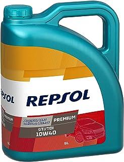 Repsol Premium GTI/TDI 10W40 Aceite lubricante para motor de vehículo ligero, 5 L