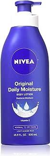 Nivea Original Daily Moisture Body Lotion 16.9 oz (Pack of 2)