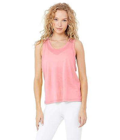 ALO Model Tank (Macaron Pink) Women