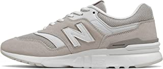 New Balance Suede Mesh Accent Side Stitched Logo Lace-up Sneakers For Women