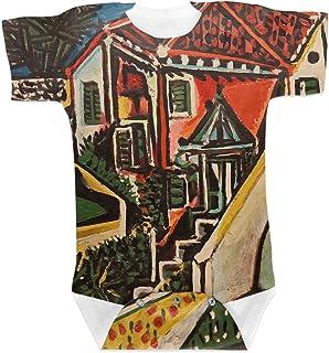 RNK Shops Mediterranean Landscape by Pablo Picasso Baby Onesie