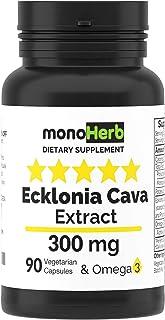 Ecklonia Cava Extract 300 mg per Capsule - 90 Vegetarian Capsules