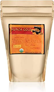 Apricot Kernels/Seeds (1 Pound / 454 grams) Hunza Gold Bitter Certified Organic Raw