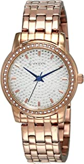 Giordano Analog Silver Dial Women's Watch - 2712-33