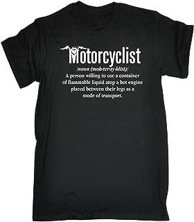 123t Men's Motorcyclist Noun Tshirt