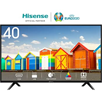 "Hisense H40BE5000 TV LED HD 40"", USB Media Player, Tuner DVB-T2/S2 HEVC Main10 [Esclusiva Amazon - 2019]"