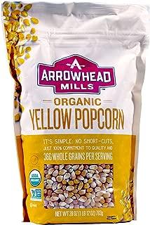 Arrowhead Mills Organic Popcorn - 2 Bags - Total of 56 Ounces (2 Pack)