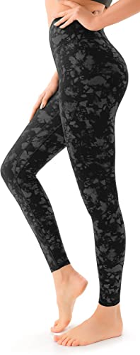 VOEONS Women's Workout Leggings Squat Proof High Waisted Athletic Yoga Pants for Women with Inner Pockets