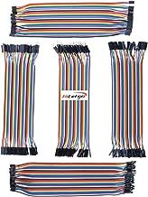 HiLetgo 5個セット 5*40本 ジャンパワイヤブ レッドボードワイヤ メス-メス オス-オス メス-オス 2.0mm-2.0mm 2.0mm-2.54mm 1P-1P 2P-1P 5種類回路基板のジャンパーピン 総計200本