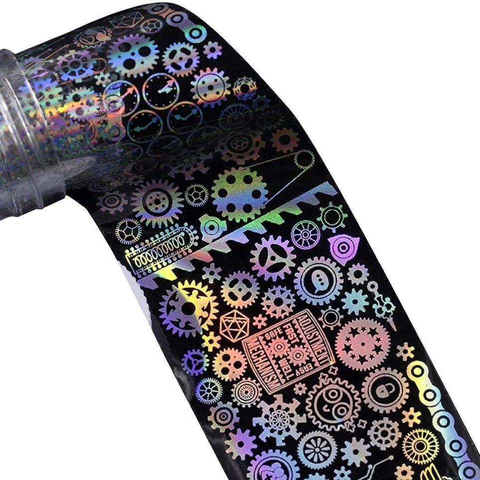 雷雨前奏曲国民投票Nerhaily ヨーロッパ風格 ネイルホイル ネイルシール ウォーターネイルシール 爪に貼るだけ ネイルデコレーション 全10種類 ロールネイルシール