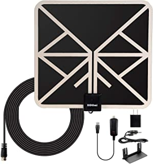 2019 Indoor TV Antenna 120+ Miles Digital Amplified HD TV Antenna - 4K HD Freeview Life Local Channels All Type Television Local Channels w/Detachable Signal Amplifier