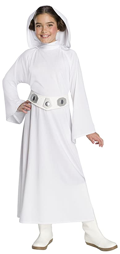 Rubie's Star Wars: Forces Of Destiny Child's Deluxe Princess Leia Costume, Large
