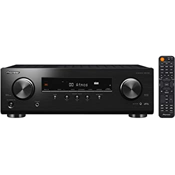 Pioneer VSX-534 Récepteur (5x150 Watt, Dolby Atmos, DTS:X, MCACC, Advanced Sound Retriever, AM/FM, Bluetooth, USB), Noir